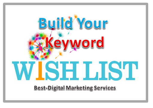 Build Your Keyword Wish List