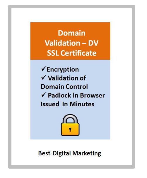 Domain Validation - DV SSL