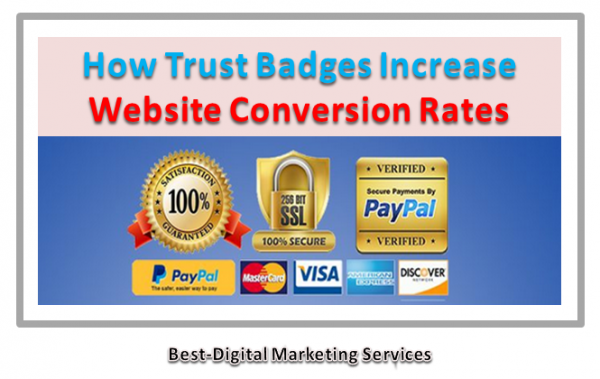 How Trust Badges Increase Website Conversion Rates