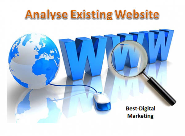 Analyse Existing Website