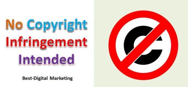 No Copyright Infringement Intended