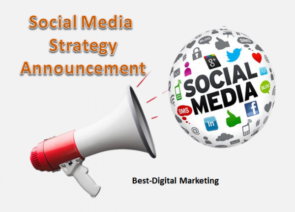 Social Media Strategy Announcement