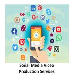 social media video production services