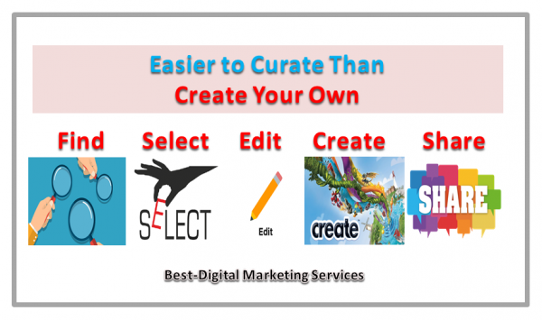 easier to curate than create your own