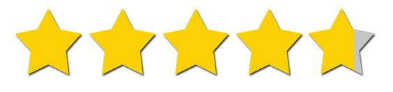 4.75 stars