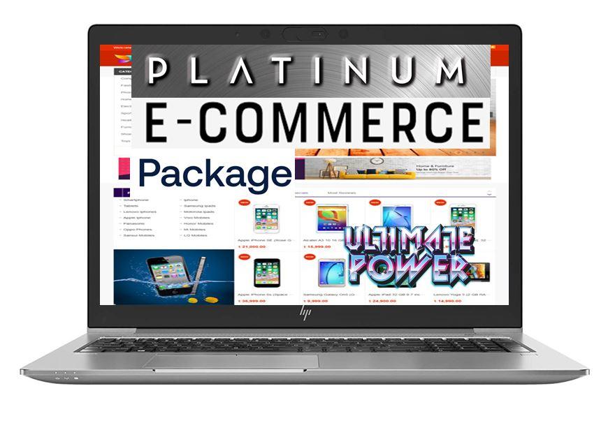 platinum e-commerce website package