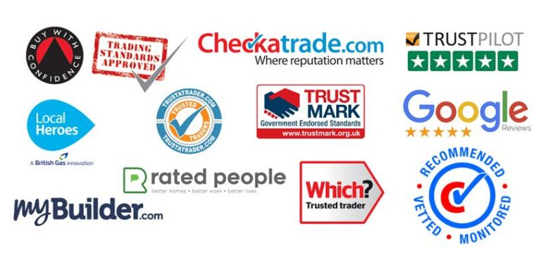 professional business website packages reputable trade badges
