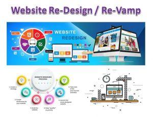 website redesign - revamp