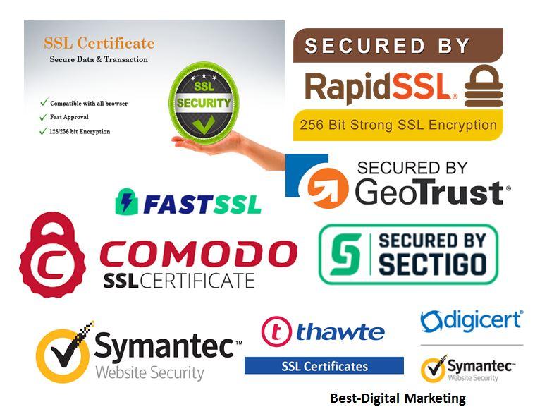 TTP & CA SSL-TLS Certificate Providers