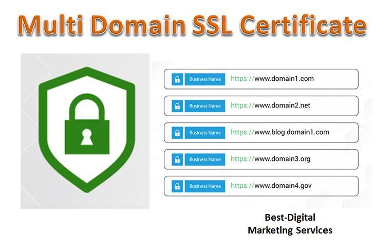 multi domain ssl certificate 1