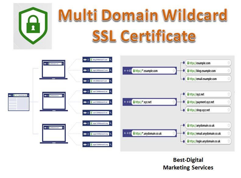 multi domain wildcard ssl certificate