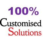 100% customised solutions