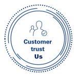 customer trust us